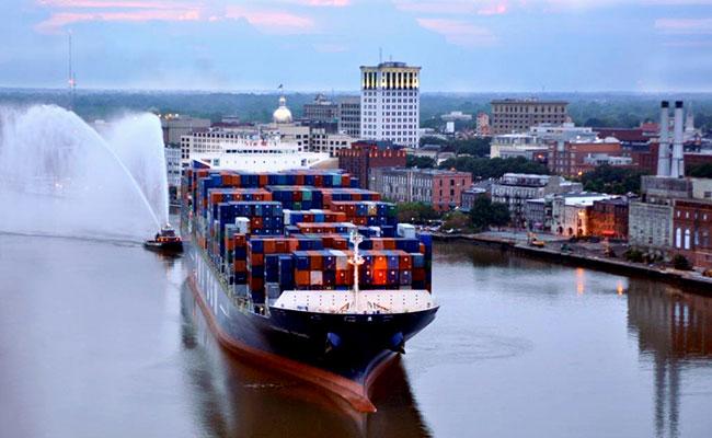 Empleos impulsados por el puerto de georgia crecieron 19 mundo portuario - Trabajo en el puerto ...